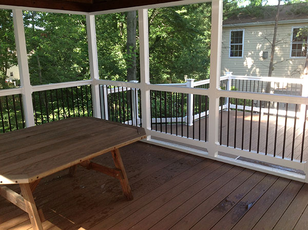 Screened Porches Freedom Fence Amp Deck