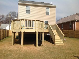 Wood Deck 21