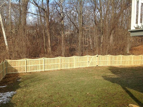 Wood Fence 10