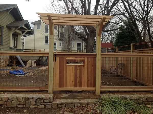 Wood Fence 12