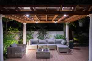 Deck Lighting Freedom Fence & Deck