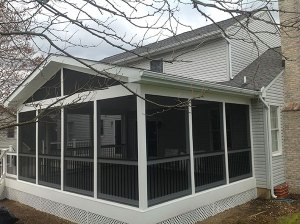 Columbia, MD Screened Porch Freedom Fence