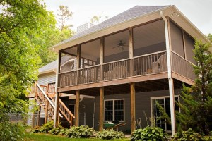Screened-In Porch Installation Harford County Freedom Fence & Deck