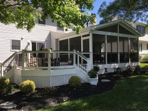 Why Turn a Screened Porch Into a Deck Freedom Fence