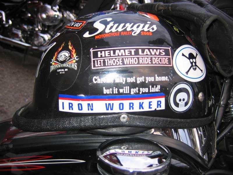 Sturgis Helment