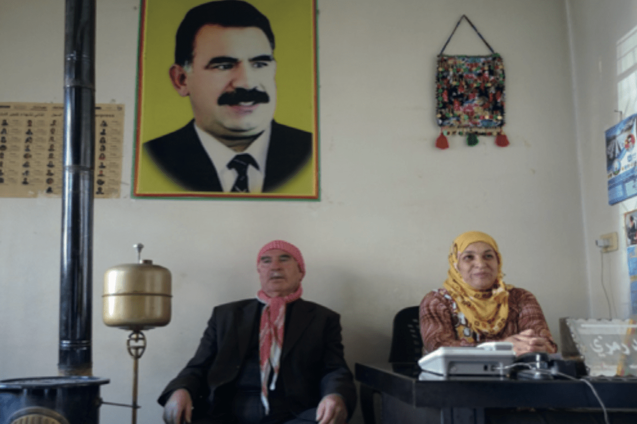 Cochairs AANES freedom for ocalan