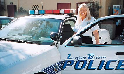 VOLUNTEER MINISTER GAYLE THORSEN: wife, mother and Laguna Beach, California, police chaplain.
