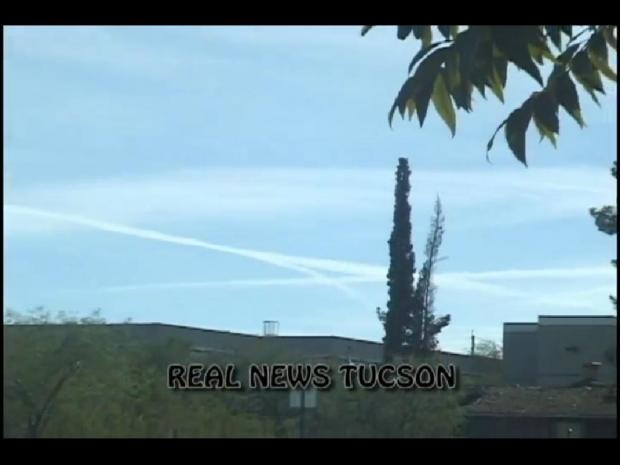TUCSON Weather GEO-ENGINEERING (Chemtrails) Nov.18th 2011