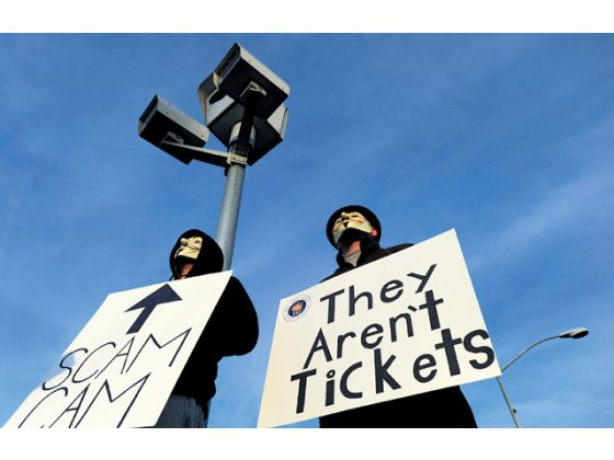 ... Protesting Red Light Cameras. California Activists Harassed Twice While  Protesting Freedoms Phoenix