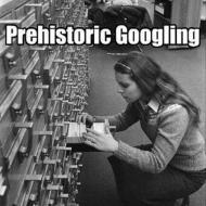prehistoric-googling-library