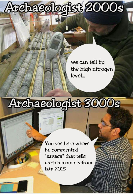 archaeology in the future