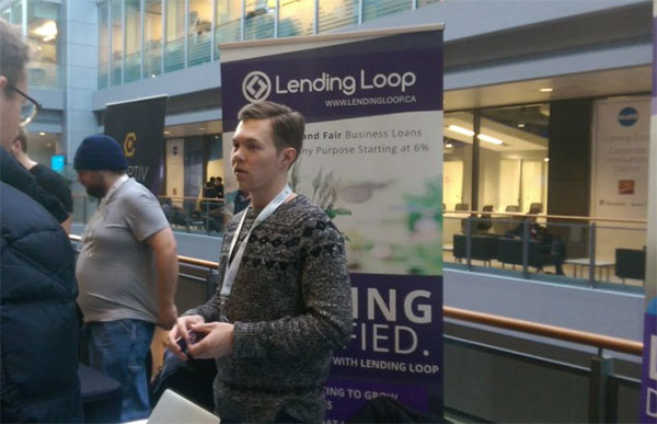 Lending Loop Co-founder Brandon