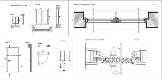 Free Door Details 3 - Free Download Architectural Cad Drawings