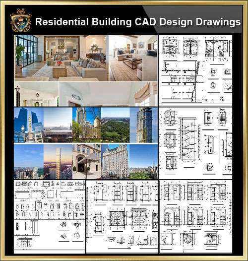 ★【Residential Building CAD Details Collection V.2】
