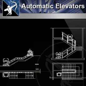 【Architecture CAD Details Collections】Automatic Elevator CAD Details