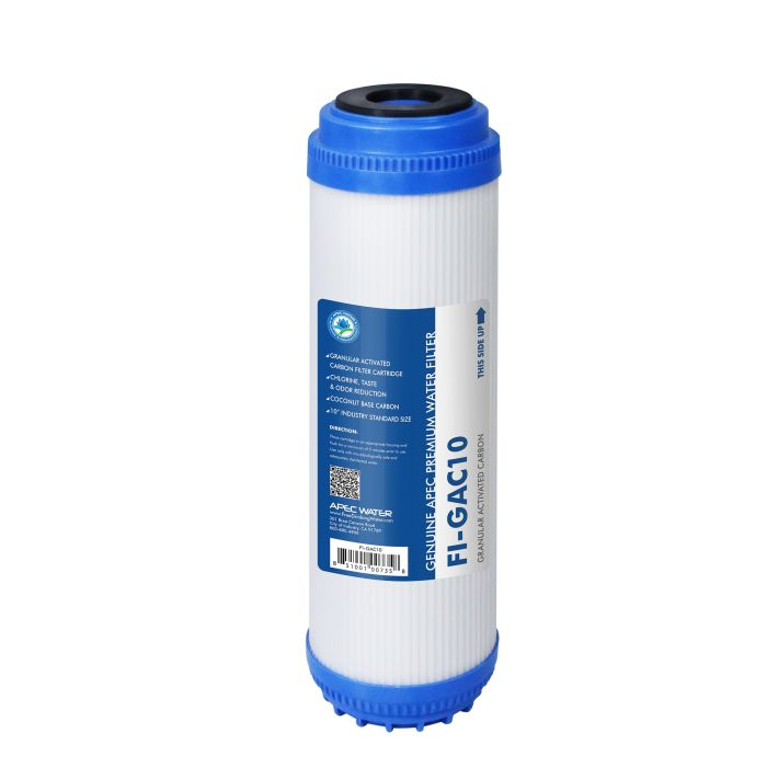 apec 10 gac replacement filter for under sink reverse osmosis water filter system