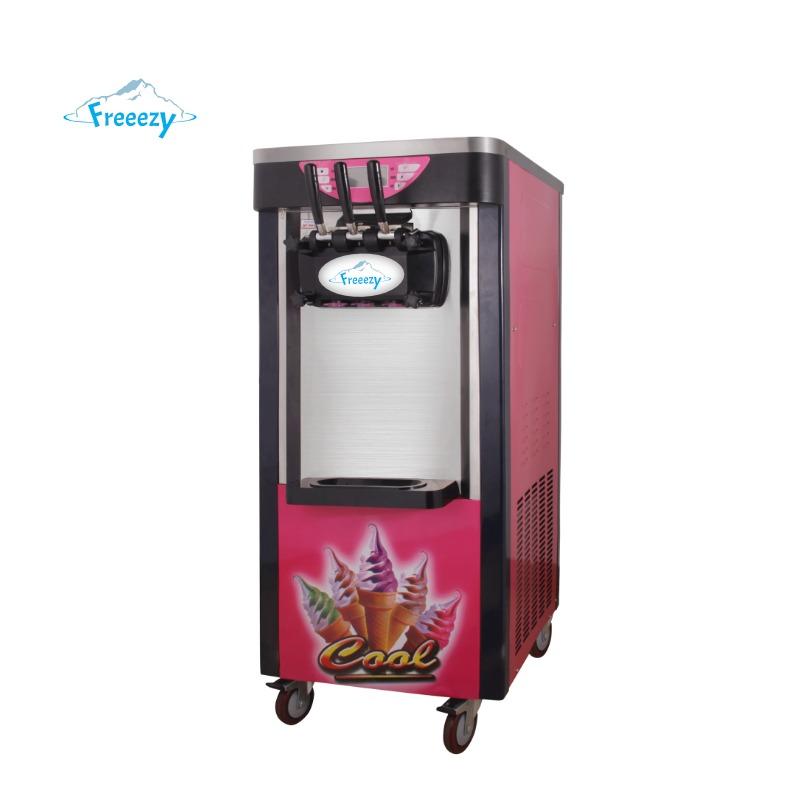Freeezy Snow Ice Maschine; Softeis Maschine, Frozen Yogurt Maschine