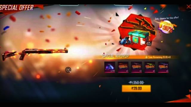 Free Fire Rs.29 Air Drop