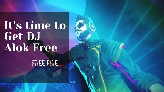 DJ alok Character in free fire