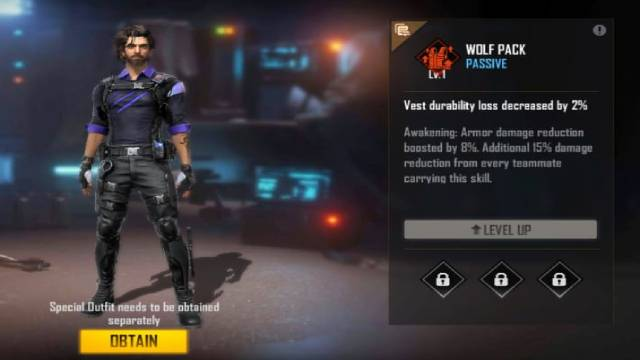 Free Fire's New Elite Andrew character