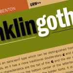 Franklin Gothic Font Free Download