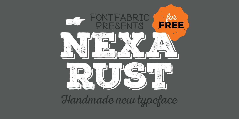 Nexa Rust Font Free Download - Free Fonts