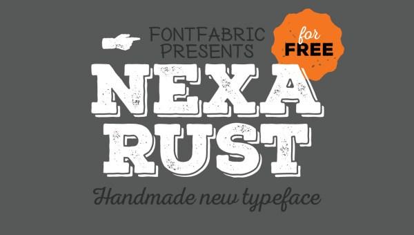 Nexa Rust Font Free Download
