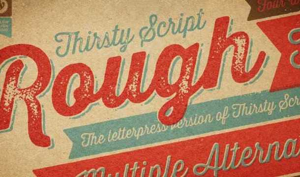 Thirsty Script Rough Free Download