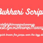 Bukhari Script Font Free Download
