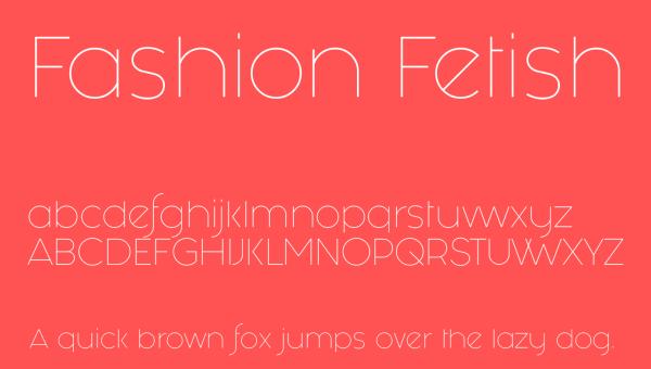 Fashion Fetish Font Free Download