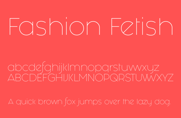 Fashion Fetish Font Free Download