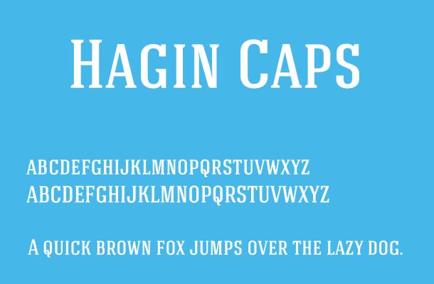 Hagin Font Free Download
