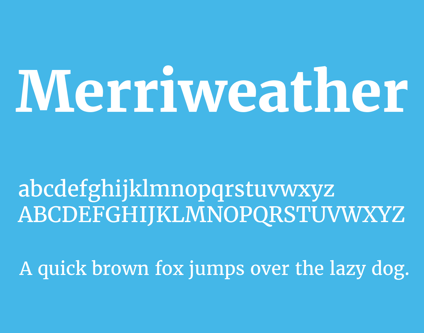 merriweather-font