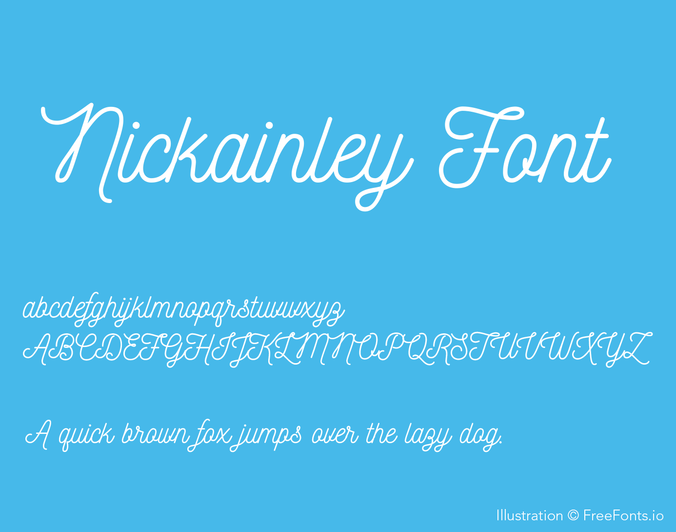 nickainley-font_poster