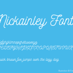 Nickainley Font Free Download