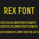 Rex Font Free Download