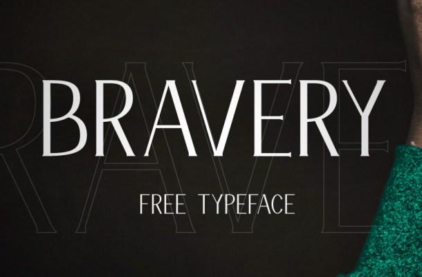 Bravery – Free Display Font