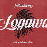 Logawa Script Font Free
