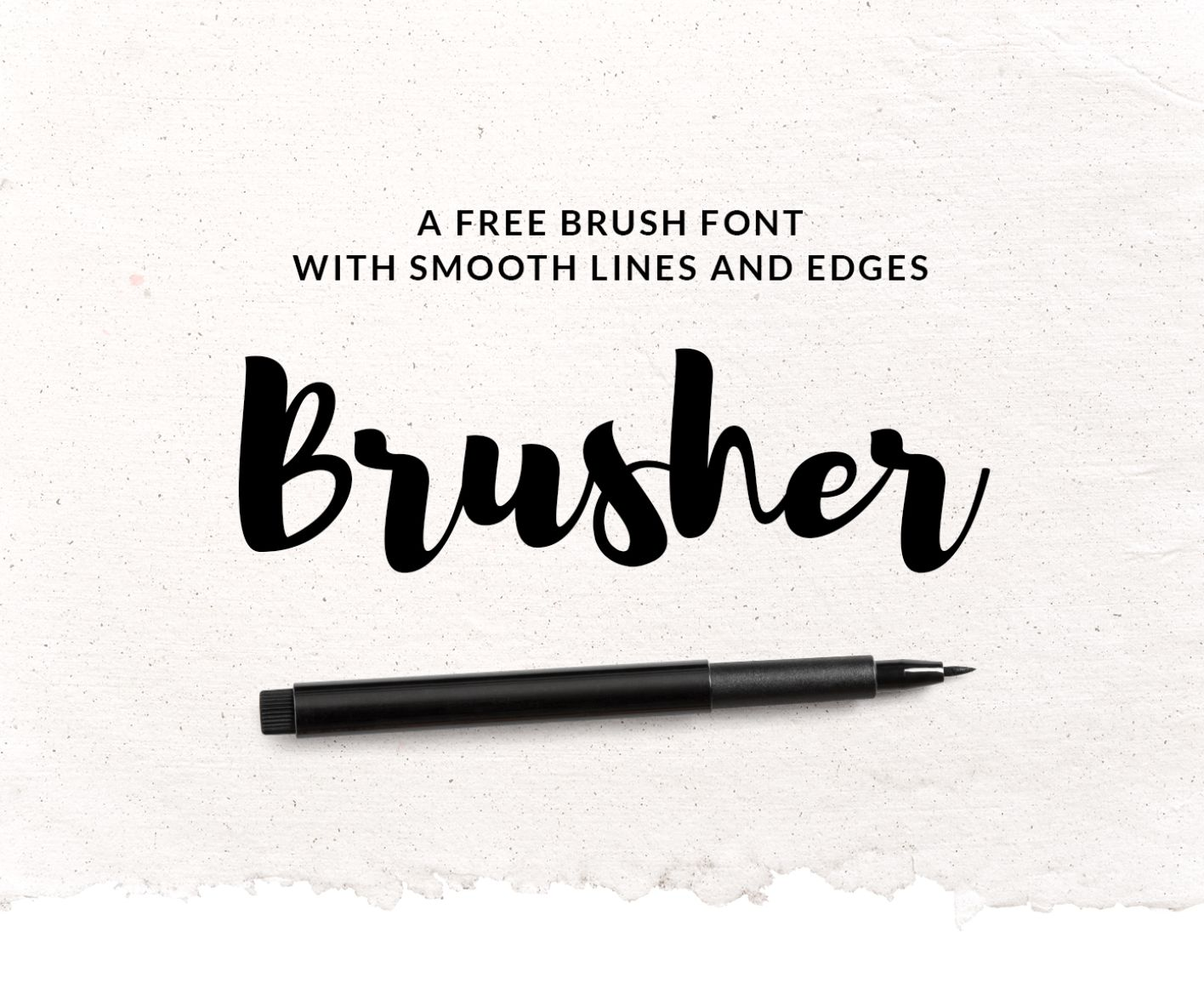 Brusher Free Font on Behance