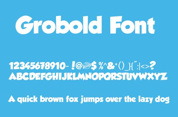 Grobold Font Free