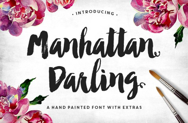 70 Beautiful and High Quality Brush Script Fonts of 2017