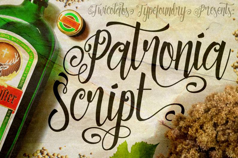 Patronia Script