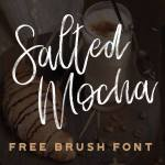 Salted Mocha – Free Brush Script