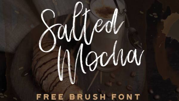 Salted Mocha – Free Brush Script