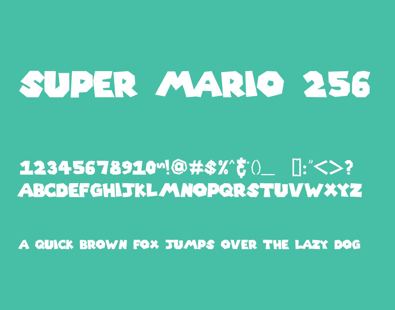 Super Mario 256