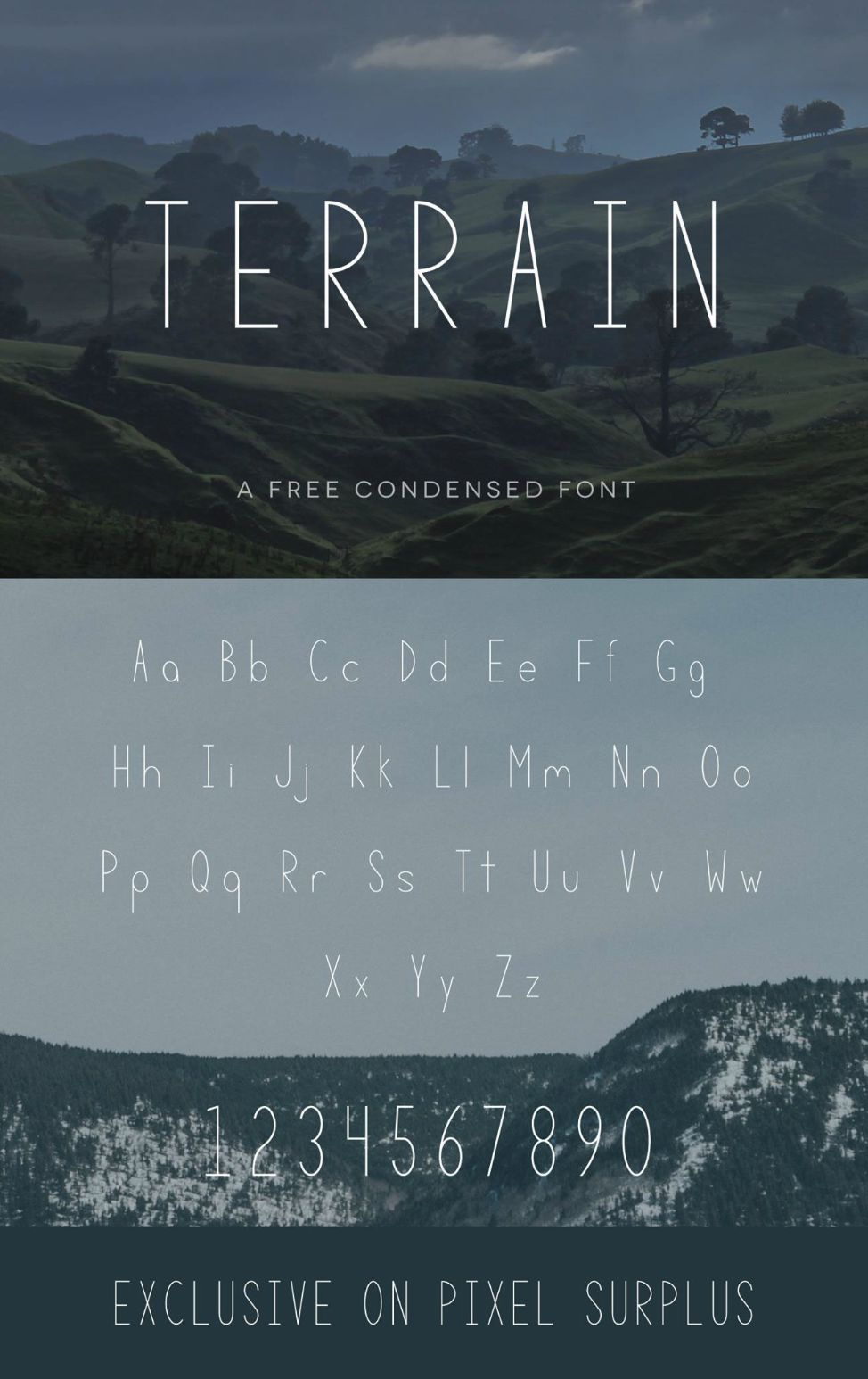 TERRAIN - FREE FONT on Behance
