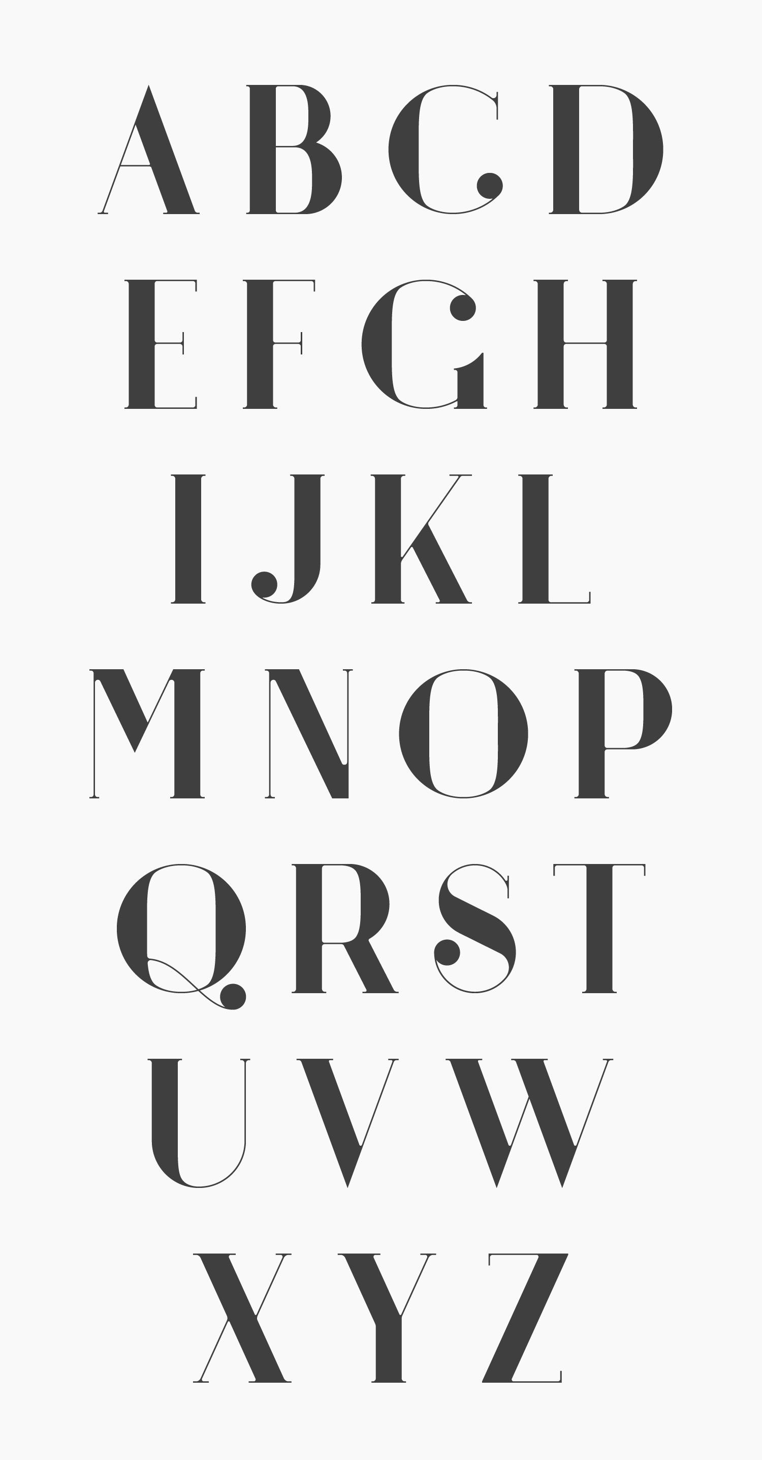 argo font 4