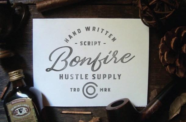 Bonfire – Free Brush Script Font