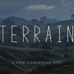 Terrain – Free Condensed Font