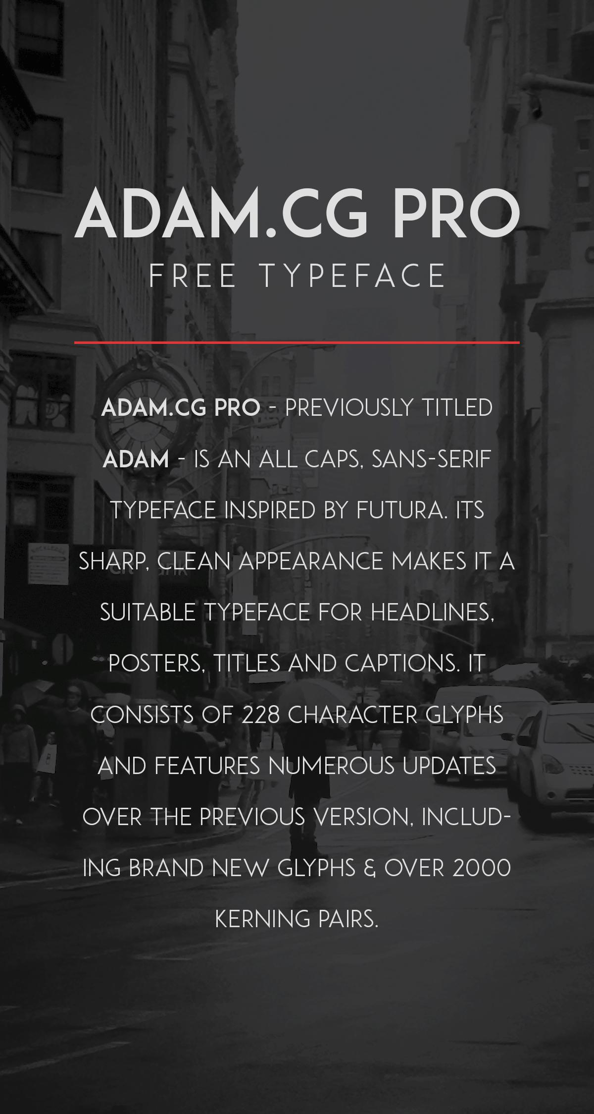 ADAM.CG PRO